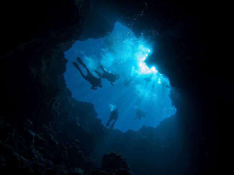 Палау голубая дыра