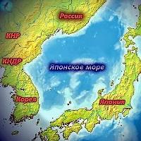 Японское море Россия