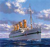 Британник судно трагическое