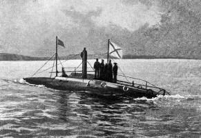 Российская подводная лодка и её трагедия