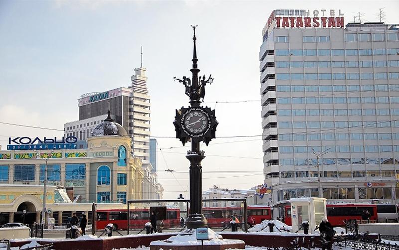 Часы Казани